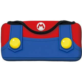 [NEW NOT USED] Switch Super Mario Quick Pouch Nintendo Collection Bag Case Cover Protect