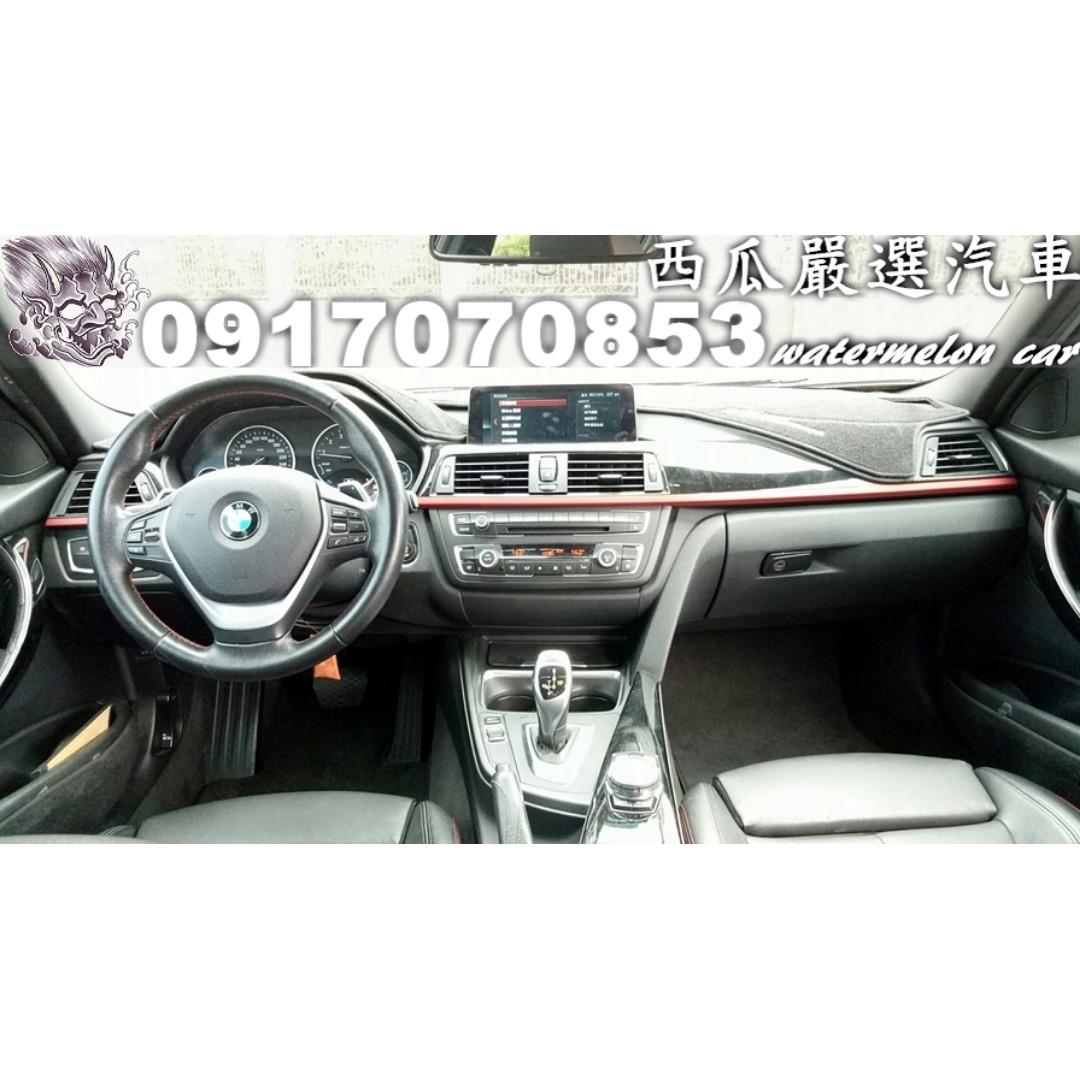 2012年 BMW F30 328I 2.0 M版套件 僅跑八萬 新車價241萬 8速線傳 天窗 換檔快撥 I-KEY AP卡鉗