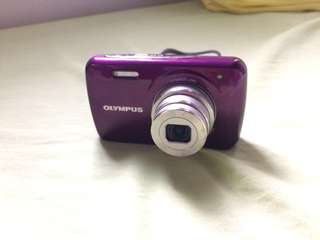 Olympus digicam (purple)