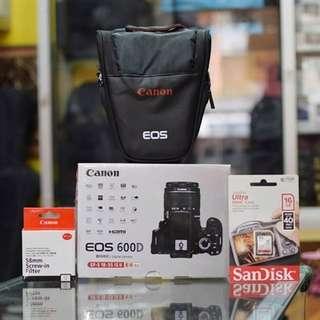 Canon 600D Bisa Di Cicil Tanpa Kartu Kredit Dan Bisa Langsung Bawa Barang Kerumah
