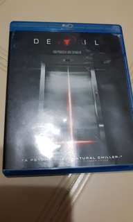 Pre-loved Devil Blu Ray Bluray