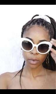 CRAP eyewear Audrey Hepburn-esque sunnies