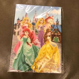 Disney princess notebook迪士尼公主單行簿