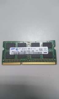 Samsung DDR3 Laptop 4GB
