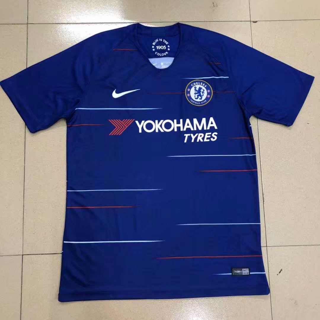info for bcb50 7efb3 2018/2019 Chelsea Home Football Jersey