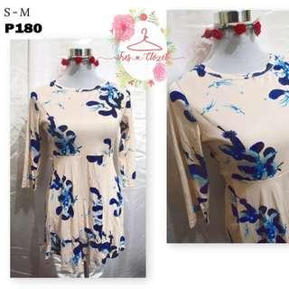 Feathered Dress (Ukay Item)