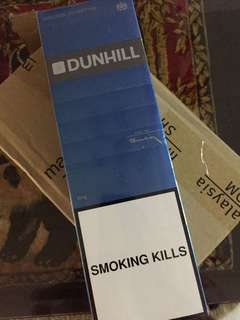Duty Free Dunhill cigarettes