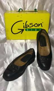 Gibson Black Shoes (school shoes)