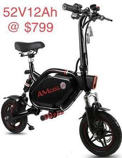 AM scooter  52V 12AH Preorder @$799 Stock will be arriving end June