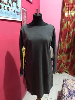002 Gray Dress (50 ribu)