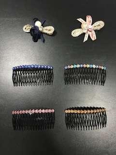 Hari Raya Puasa Promotion - New Korean Version Crystal Hair Clips