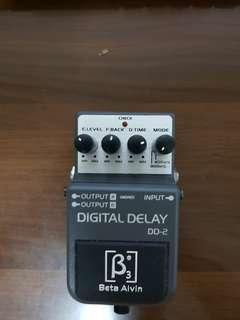 Beta Alvin Digital Delay DD-2