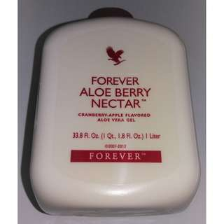 2 FOR $60! Forever Aloe Berry Nectar (Cranberry-Apple Flavoured Aloe Vera Gel)