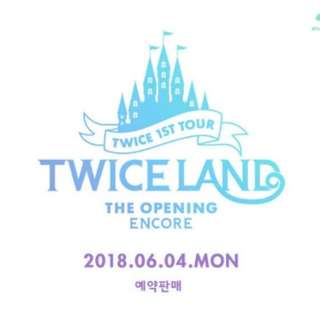 [TWICE] Twiceland : The Opening (Encore) Blu-ray