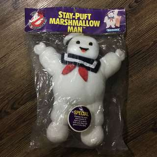 Stay Puft Marshmallow Man soft toy