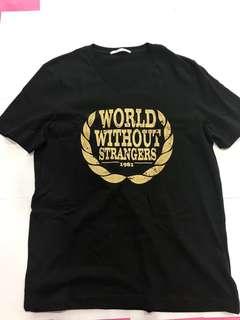 *BARGAIN SHIRT* Black Graphic T-shirt