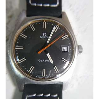 60年代Omega Geneve 奧米加男裝運動型上鍊手錶