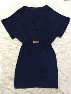 006 Zara Blue Dress (100 ribu)