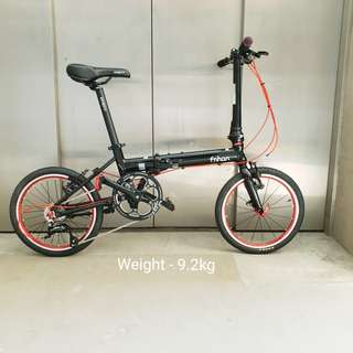 Fnhon Zephyr 16inch 9speed Folding Bicycle