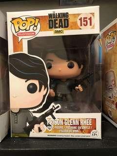 The walking dead glen pop figure