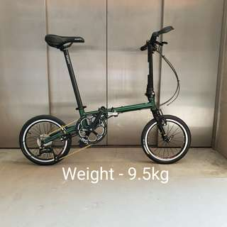 Fnhon Gust 16inch Folding Bicycle