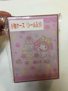 My Melody 小物盒(內付貼紙)