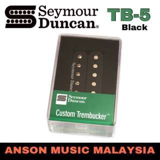 Seymour Duncan TB-5 Custom Trembucker Pickup, Black