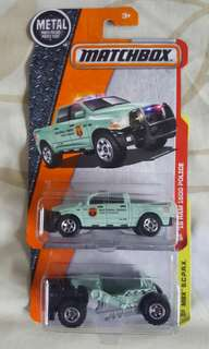 Matchbox toy car set of 2