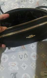 authentic coach mini sling..