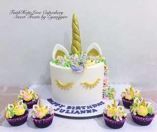 Rainbow Unicorn Cake Package (Promo)