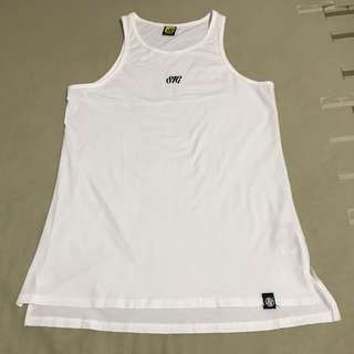 STAGE White Tank Top