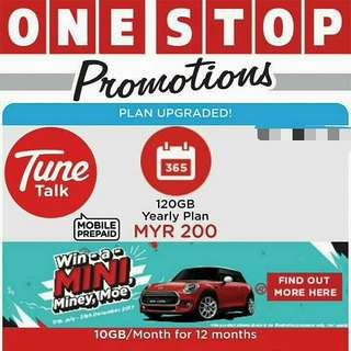 Tune Talk 120GB