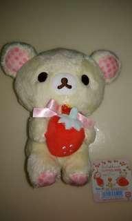 🚚 日版 拉拉熊 精品娃娃/吊飾/鑰匙圈 做工精緻、限量