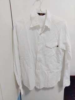 Bape white shirt 白色裇衫
