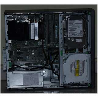 Q87 motherboard HP, casing and PSU (1TB HDD)