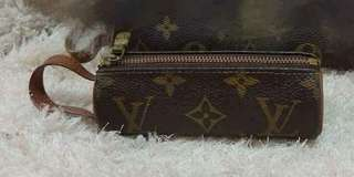 Louis Vuitton lv  圓筒型小袋 small pouch