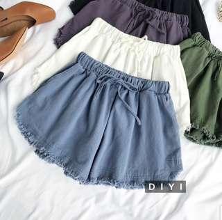 •INSTOCK• Denim like runner casual shorts