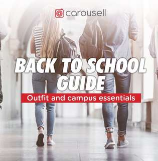 WE ARE FEATURED! Back to school with Carousell ✨