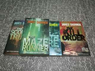 James Dashner's The Maze Runner Series