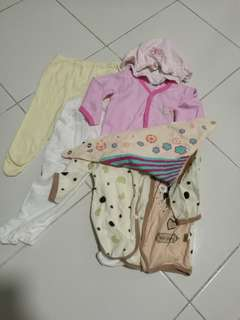 Baby Clothes 0-6 months old