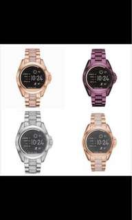 Michael Kors Bradshaw Rose Gold-Tone and Acetate Smartwatch MStyle