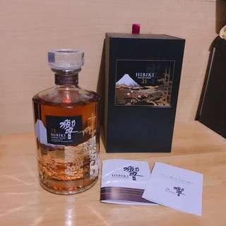 響21 🥂花鳥風月Hibiki Whisky 🥂
