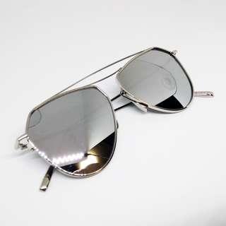 Gray Mirror Sunglasses