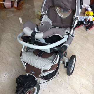 Stroler With car seat