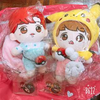 EXO chanbaek doll