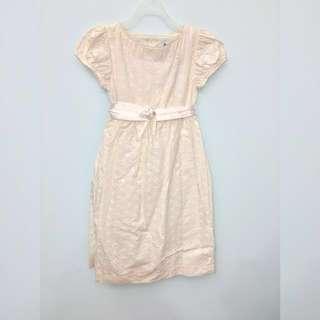 🚚 米白洋裝 專櫃童裝(原價2290)