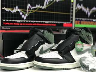 Air Jordan 1 Clay Green - AJ1 ( North America exclusive )