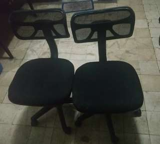 Office chairs without arm rest
