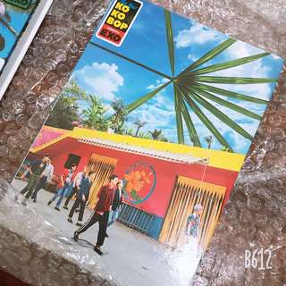 EXO Kokobop album without photocard