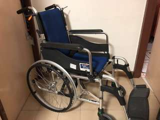 Lifeline Lightweight Aluminium Wheelchair (reserved)